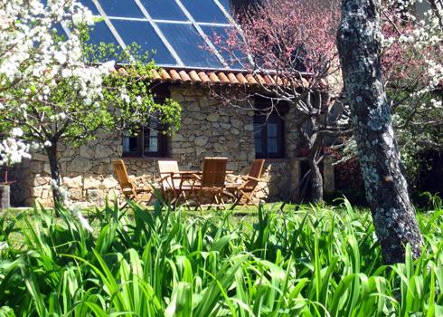 Casa rural el jard n del convento herv s c ceres - Casa rural el jardin ...